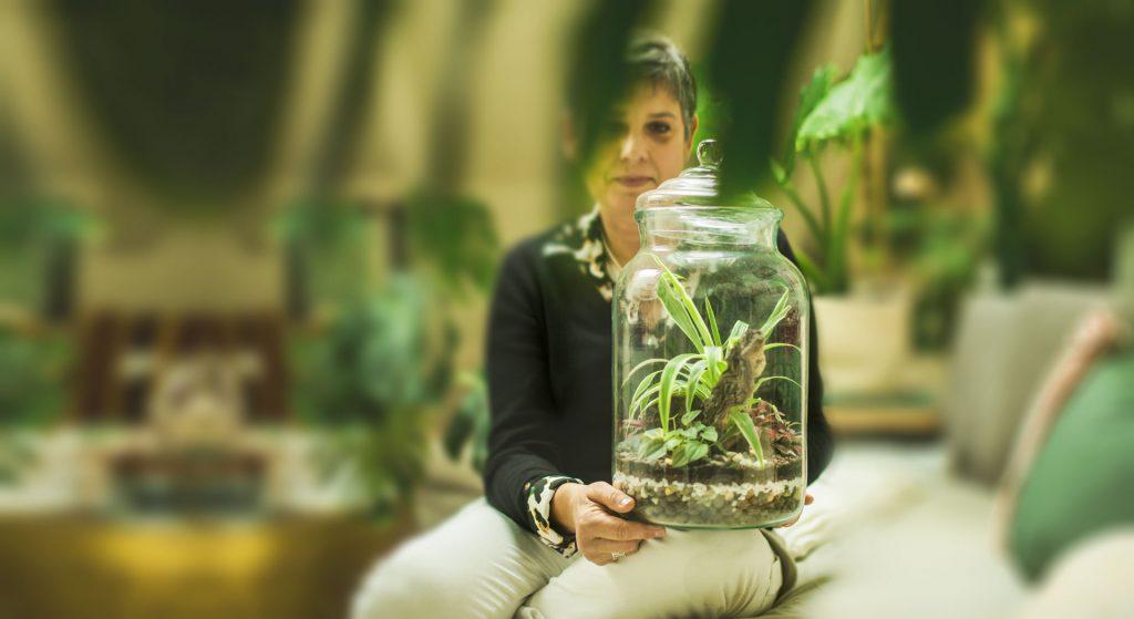 Festa della mamma Terrarium Glass Life